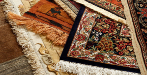 how to clean dirty synthetic rugs